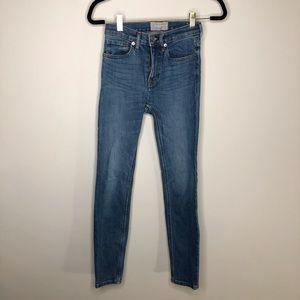 Everlane Classic Blue Skinny Jeans